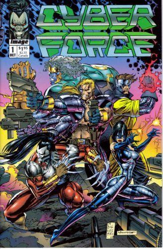 Cyberforce, Vol. 1 #1 - The Tin Men Of War, Part 1 Conditie: Goed Image 1