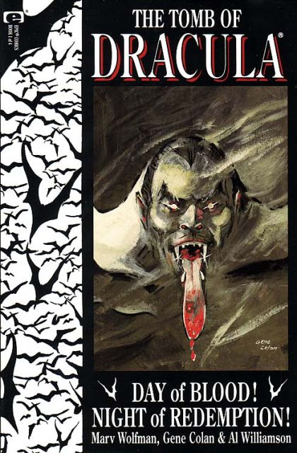 The Tomb of Dracula, Vol. 3 #1 - Day of Blood! Night of Redemption! Conditie: Goed Marvel 1