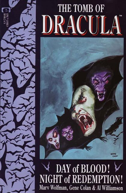The Tomb of Dracula, Vol. 3 #2 - The Day Of Blood - Night Of Redemption - Book 2 Conditie: Goed Marvel 1