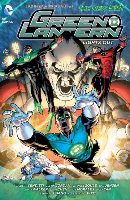 Green Lantern: Lights Out Volume HC Conditie: Tweedehands, als nieuw DC 1