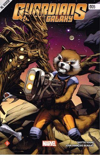 Guardians of the Galaxy [NL] Deel 005 Conditie: Nieuw Marvel 1