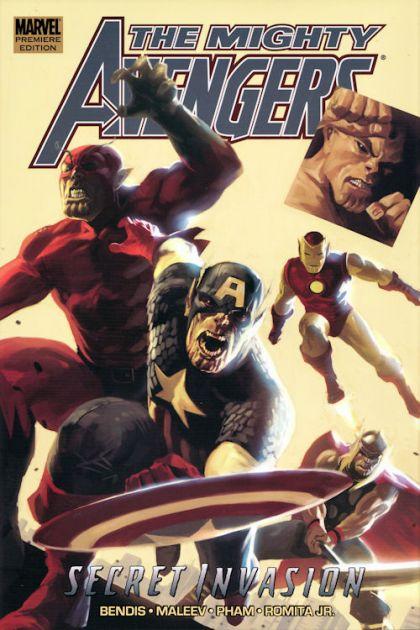 Mighty Avengers Volume 03: Secret Invasion Book 1 [HC] Conditie: Tweedehands, als nieuw Marvel 1