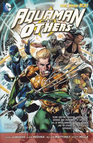 Aquaman and The Others Volume 01: Legacy of Gold Conditie: Tweedehands, goed DC 1