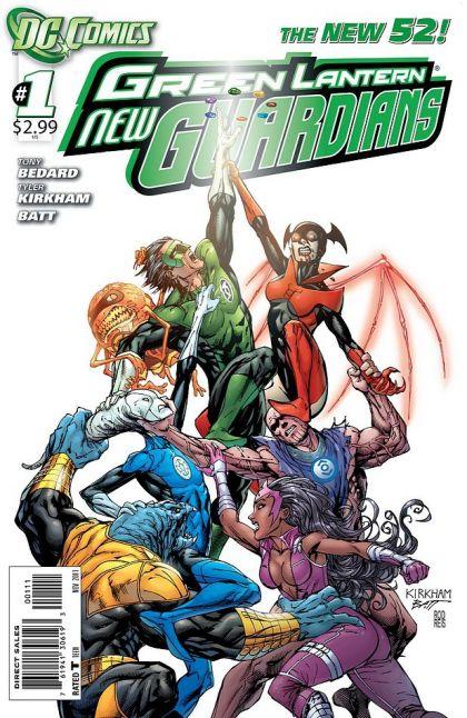 Green Lantern: New Guardians HC Conditie: Tweedehands, als nieuw DC 1