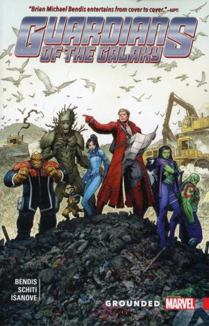 Guardians of the Galaxy: New Guard Volume 4: Grounded Conditie: Tweedehands, als nieuw Marvel 1