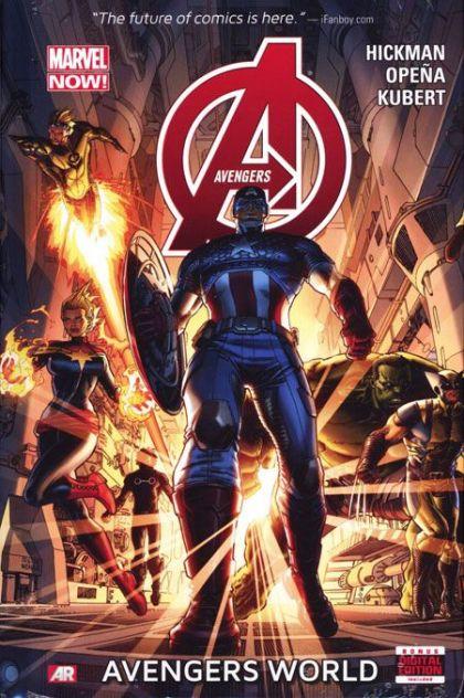 Avengers World [Vol. 5] Volume 1 HC Conditie: Tweedehands, als nieuw Marvel 1