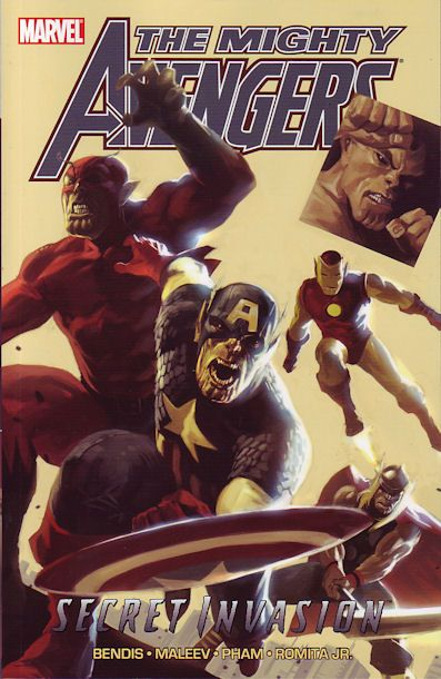 Mighty Avengers: Secret Invasion Book 1 Conditie: Tweedehands, als nieuw Marvel 1