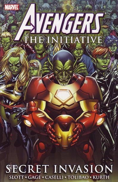 Avengers: The Initiative Volume 3: Secret Invasion Conditie: Tweedehands, als nieuw Marvel 1