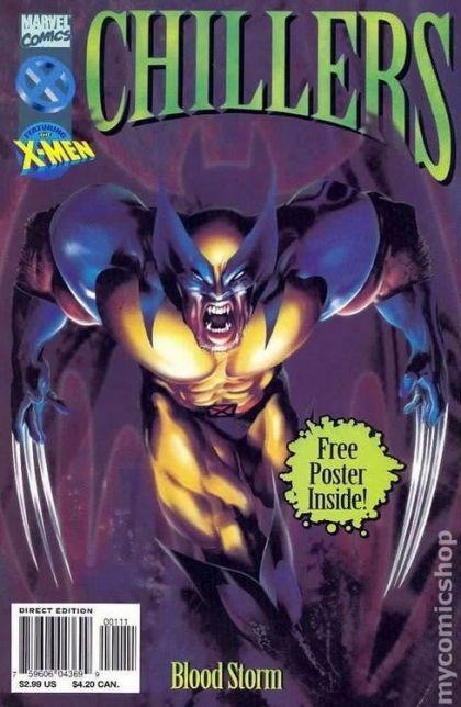 Marvel Chillers: Blood Storm Conditie: Tweedehands, goed Marvel 1