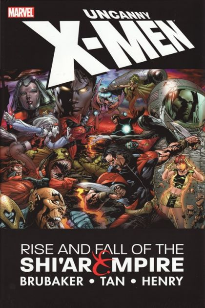Uncanny X-Men: Rise & Fall of the Shi'Ar Empire Conditie: Tweedehands, als nieuw Marvel 1