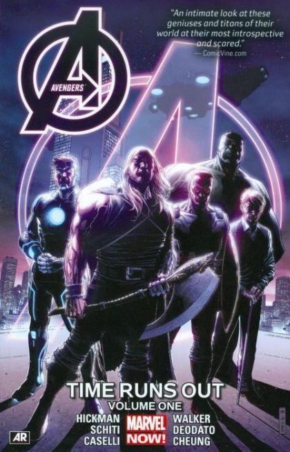 Avengers: Time Runs Out Volume 1 Conditie: Tweedehands, als nieuw Marvel 1