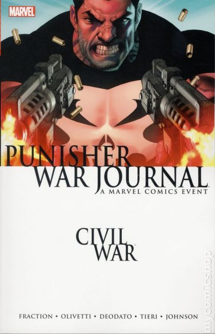 Civil War: Punisher War Journal Conditie: Tweedehands, als nieuw Marvel 1