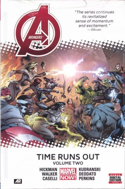 Avengers: Time Runs Out Volume 2 Marvel 1