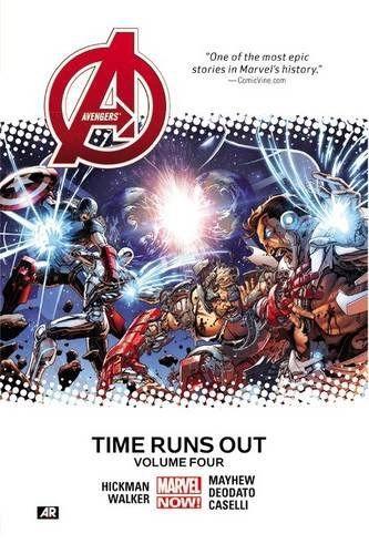 Avengers: Time Runs Out Volume 4 Conditie: Tweedehands, als nieuw Marvel 1