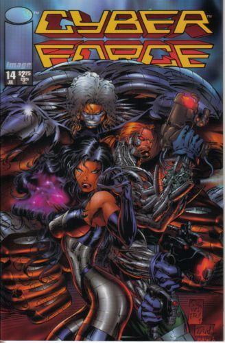 Cyberforce [Vol. 2] #14 Conditie: Tweedehands, goed Image 1