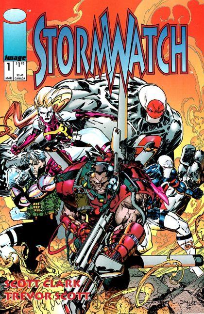 Stormwatch [Vol.1] #1A Conditie: Tweedehands, goed Image 1