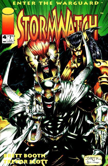 Stormwatch [Vol.1] #4 Conditie: Tweedehands, goed Image 1