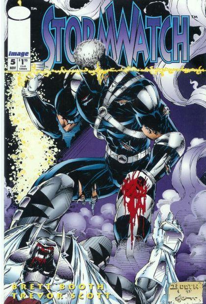 Stormwatch [Vol.1] #5 Conditie: Tweedehands, goed Image 1