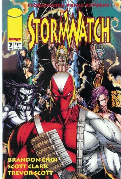 Stormwatch [Vol.1] #7 Conditie: Tweedehands, goed Image 1