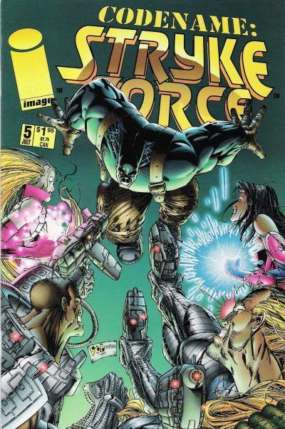 Codename: Stryke Force #5 Conditie: Tweedehands, goed Image 1