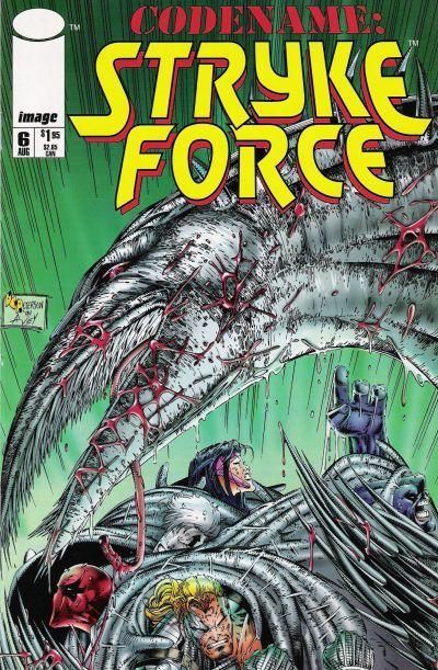 Codename: Stryke Force #6 Conditie: Tweedehands, goed Image 1
