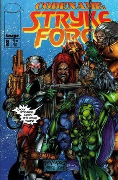 Codename: Stryke Force #8 Conditie: Tweedehands, goed Image 1