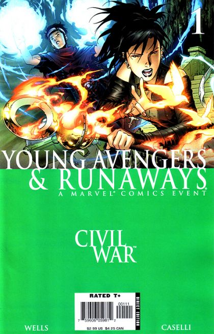 Civil War: Young Avengers & Runaways #1 Conditie: Tweedehands, goed Marvel 1