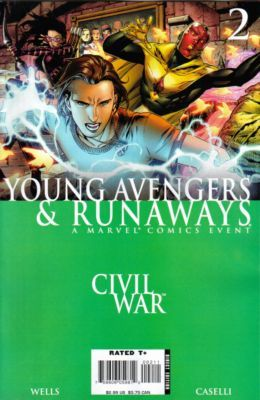 Civil War: Young Avengers & Runaways #2 Conditie: Tweedehands, goed Marvel 1