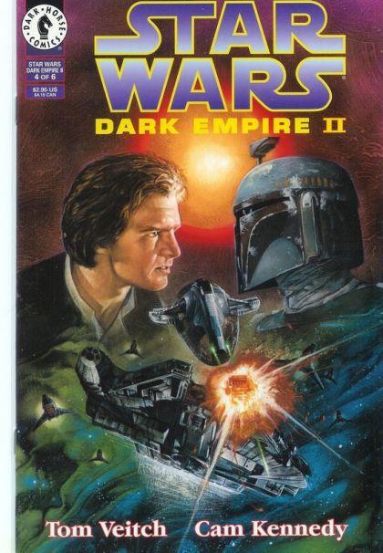Star Wars: Dark Empire II #4A Conditie: Tweedehands, goed Dark Horse 1