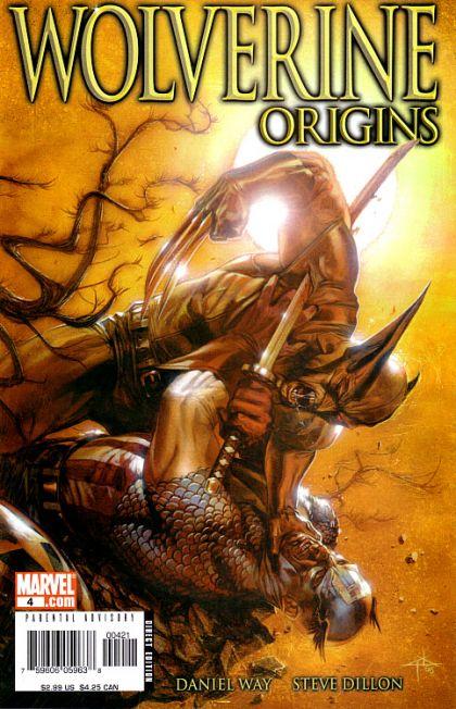 Wolverine: Origins #4B Conditie: Tweedehands, goed Marvel 1