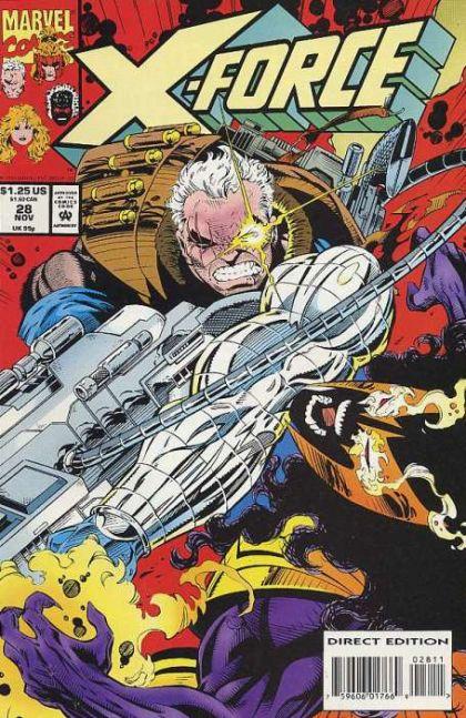 X-Force [Vol. 1] #28: The Axe Falls Conditie: Tweedehands, goed Marvel 1