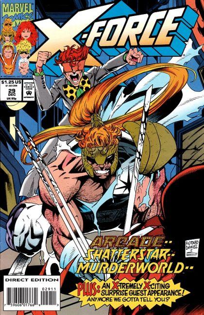 X-Force [Vol. 1] #29: Toy Soldiers Conditie: Tweedehands, goed Marvel 1