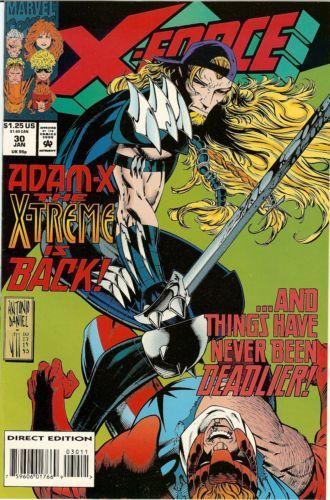 X-Force [Vol. 1] #30: Something Worth Fighting For Conditie: Tweedehands, goed Marvel 1