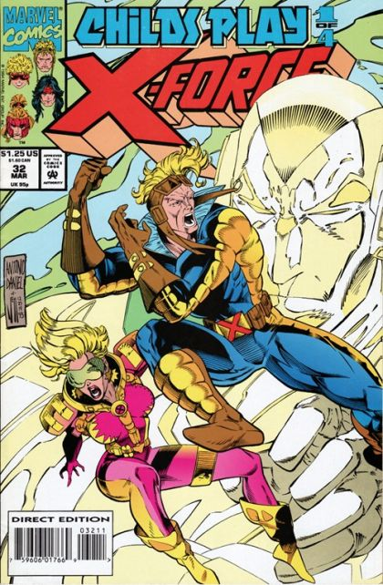X-Force [Vol. 1] #32: First Move: with a Roll of the Dice Conditie: Tweedehands, goed Marvel 1