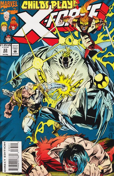 X-Force [Vol. 1] #33A: Third Move: Rules Were Made To Be Broken Conditie: Tweedehands, goed Marvel 1