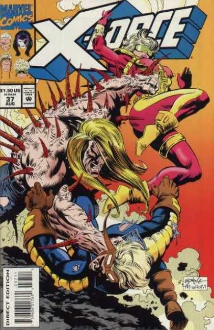 X-Force [Vol. 1] #37: Young And The Restless Conditie: Tweedehands, goed Marvel 1