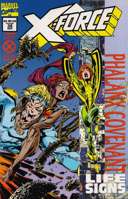 X-Force [Vol. 1] #38B: Part 2: The Faith Dancers Conditie: Tweedehands, goed Marvel 1