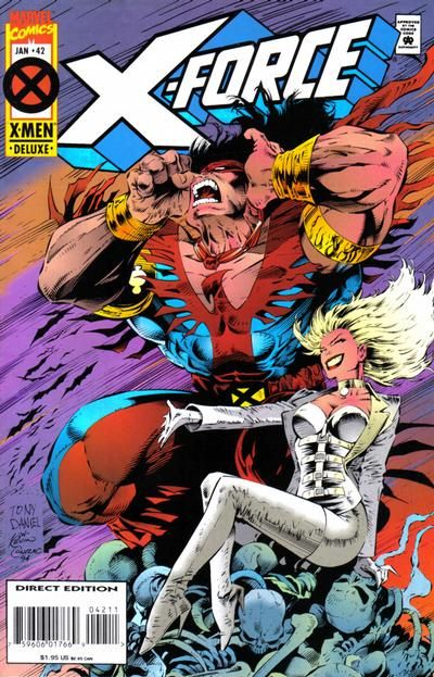 X-Force [Vol. 1] #42C: A Lie Of The Mind Conditie: Tweedehands, goed Marvel 1