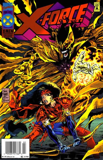 X-Force [Vol. 1] #43A: Teapot in a Tempest Conditie: Tweedehands, goed Marvel 1