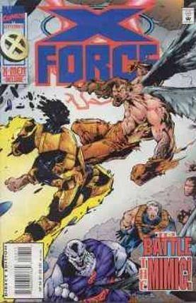 X-Force [Vol. 1] #46: Behind Closed Doors Conditie: Tweedehands, goed Marvel 1