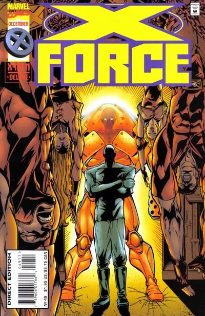 X-Force [Vol. 1] #49A: Target: X-Force Conditie: Tweedehands, goed Marvel 1