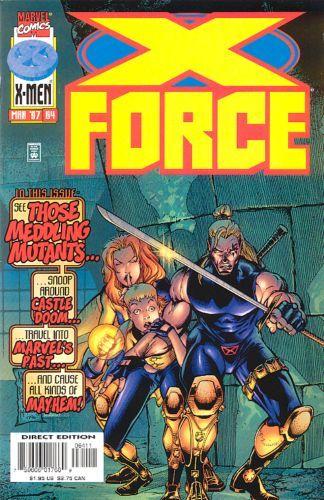 X-Force [Vol. 1] #64: The Haunting Of Castle Doom! Conditie: Tweedehands, goed Marvel 1