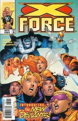 X-Force [Vol. 1] #84: ...By the Sword Conditie: Tweedehands, goed Marvel 1