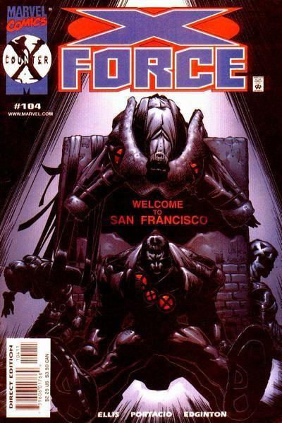 X-Force [Vol. 1] #104: Part Three Conditie: Tweedehands, goed Marvel 1