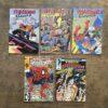 Set 5x Nederlandstalige Spider-Man Juniorpress Conditie: Tweedehands, redelijk Juniorpress 3