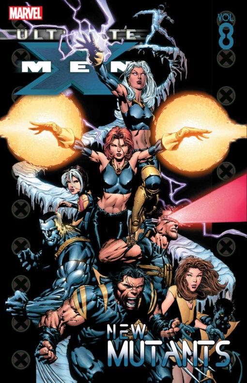 Ultimate X-Men - Volume 8: New Mutants Conditie: Tweedehands, als nieuw Marvel 1