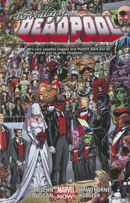 Deadpool Volume 5: Wedding of Deadpool (Marvel Now) Conditie: Tweedehands, goed Marvel 1