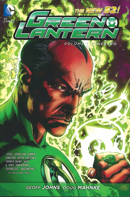 Green Lantern Volume 1: Sinestro (The New 52) Conditie: Tweedehands, als nieuw DC 1