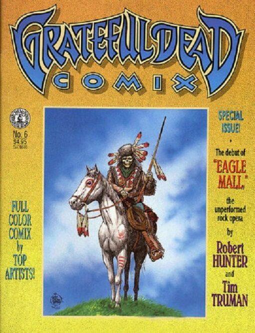 Grateful Dead Comix No. 6 Conditie: Tweedehands, redelijk Kitchen Sink Comix 1