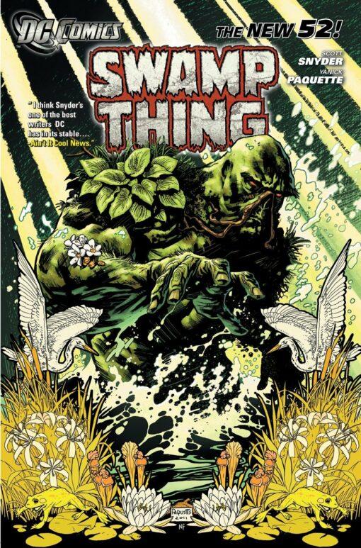 Swamp Thing Vol. 1: Raise Them Bones Conditie: Tweedehands, als nieuw DC 1